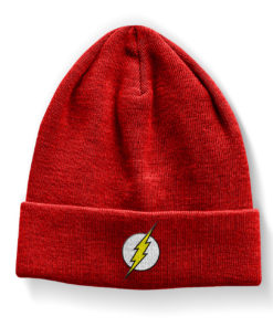 Bonnet The Flash Logo Beanie de couleur