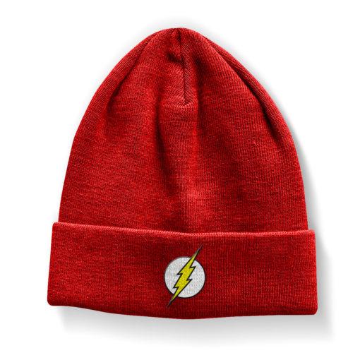 Bonnet The Flash Logo Beanie de couleur