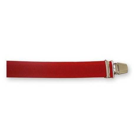 Bretelles Larges Rouges
