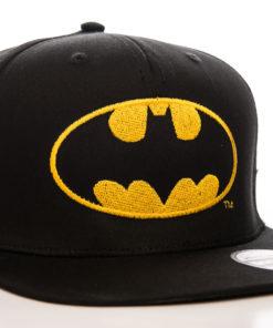 Casquette avec le logo Batman Jaune et noir