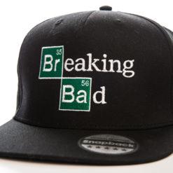 Casquette Breaking Bad Logo (visière plate) de couleur
