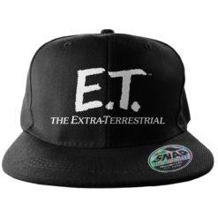 Casquette E.T. Extra-Terrestrial Logo (visière plate) de couleur