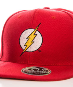 Casquette Flash rouge