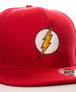 Casquette du super héro Flash l'éclair