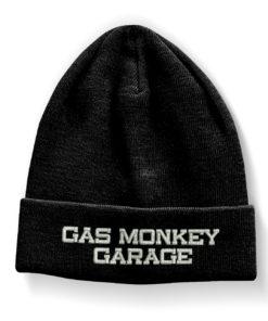 Bonnet Gas Monkey Garage de couleur Noir