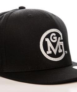 Casquette GMG (l'émission Gas Monkey Garage) de couleur Noire à visière plate