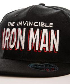 Casquette Iron Man noire