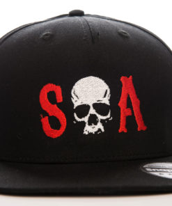 Casquette Sons of Anarchy avec tête de mort