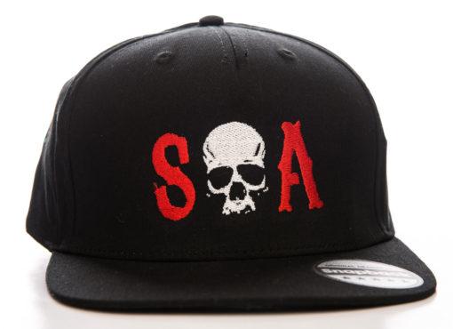 Casquette Sons of Anarchy (SOA) avec tête de mort