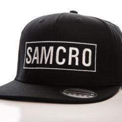 Casquette SAMCRO Cap (visière plate) de couleur