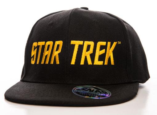 Casquette Star Trek noire et or