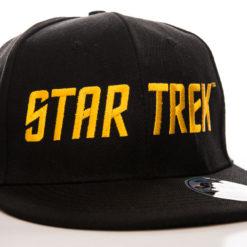 Casquette Star Trek Logo (visière plate) de couleur