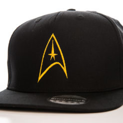 Casquette Star Trek Starfleet (visière plate) de couleur