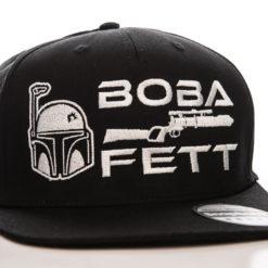 Casquette Star Wars - Boba Fett Cap (visière plate) de couleur