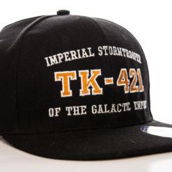 Casquette Star Wars - TK-421 (visière plate) de couleur