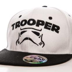 Casquette Star Wars - Trooper Cap (visière plate) de couleur