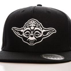 Casquette Star Wars - Yoda Cap (visière plate) de couleur