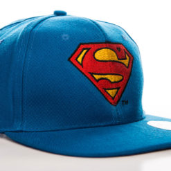 Casquette Superman Shield (visière plate) de couleur