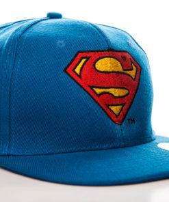 Casquette avec le logo Superman (couleur bleue, rouge et jaune)
