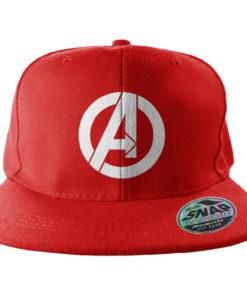 Casquette du film Avengers rouge