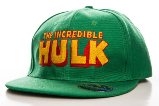 Casquette Hulk verte