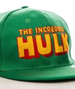 Casquette Hulk à visière plate