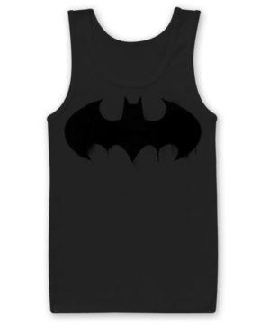 Débardeur Batman Inked Logo de couleur Noir