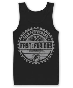 Débardeur Fast & The Furious Genuine Brand de couleur Noir