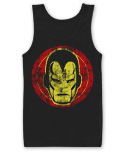 Débardeur Iron Man Icon de couleur Noir
