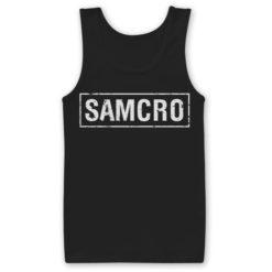 Débardeur SAMCRO de couleur Noir