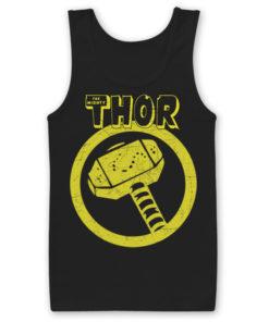 Débardeur Thor Hammer de couleur Noir