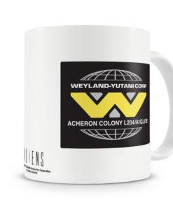 Mug Aliens - Wayland-Yutani Corporation pour thé ou café de couleur