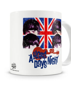 Mug Beatles - A Hard Days Night pour thé ou café de couleur
