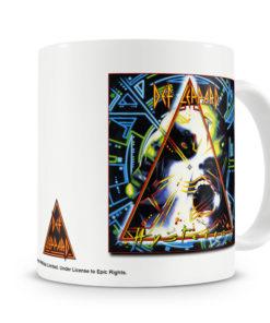 Mug Def Leppard Hysteria Cover pour thé ou café de couleur