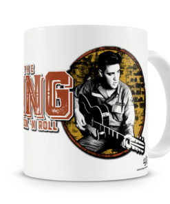 Mug Elvis Presley - King Of Rock 'n Roll pour thé ou café de couleur