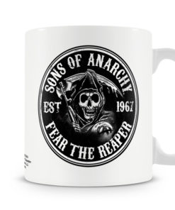 Mug Fear The Reaper pour thé ou café de couleur