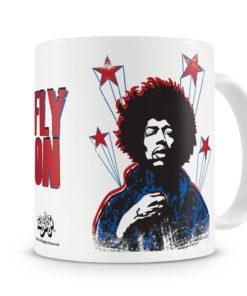 Mug Jimi Hendrix Fly On pour thé ou café de couleur