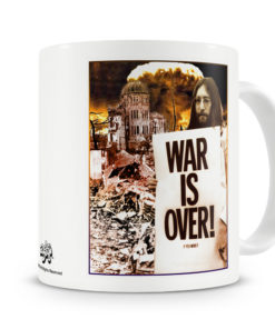 Mug John Lennon - War Is Over pour thé ou café de couleur