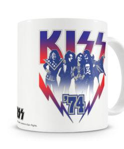 Mug KISS ?74 pour thé ou café de couleur