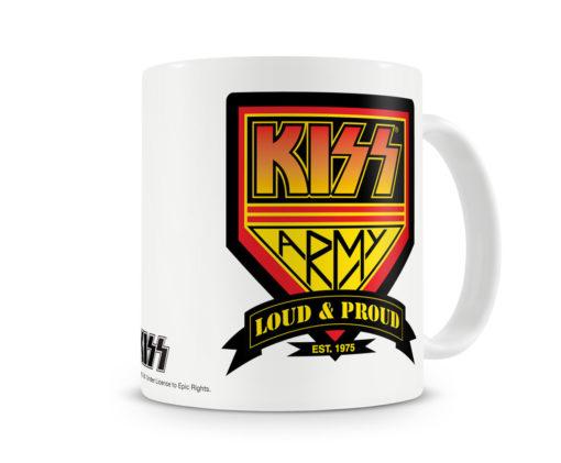 Mug KISS Army pour thé ou café de couleur