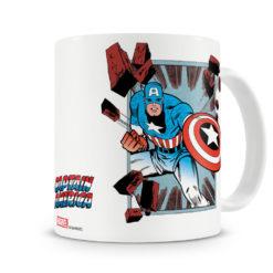 Mug Marvel - Captain America Comic Strip pour thé ou café de couleur