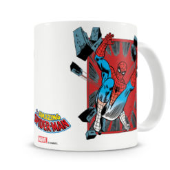 Mug Marvel - Spider-Man Comic Strip pour thé ou café de couleur