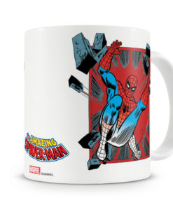 Mug Marvel - Spider-Man Comic Strip pour thé ou café de couleur