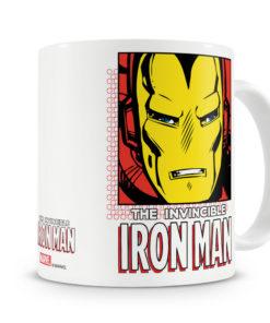 Mug Marvel - The Iron Man pour thé ou café de couleur