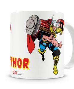 Mug Marvel - Thor's Hammer pour thé ou café de couleur