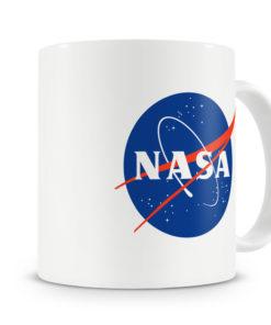 Mug Nasa Logotype pour thé ou café de couleur