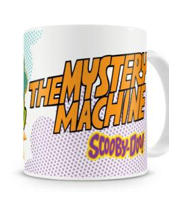 Mug Scooby Doo - Mystery Machine pour thé ou café de couleur