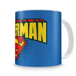 Mug Superman Shield pour thé ou café de couleur