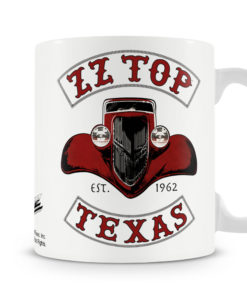 Mug ZZ-Top - Texas 1962 pour thé ou café de couleur