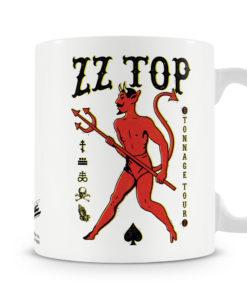 Mug ZZ-Top - Tonnage Tout Baseball pour thé ou café de couleur